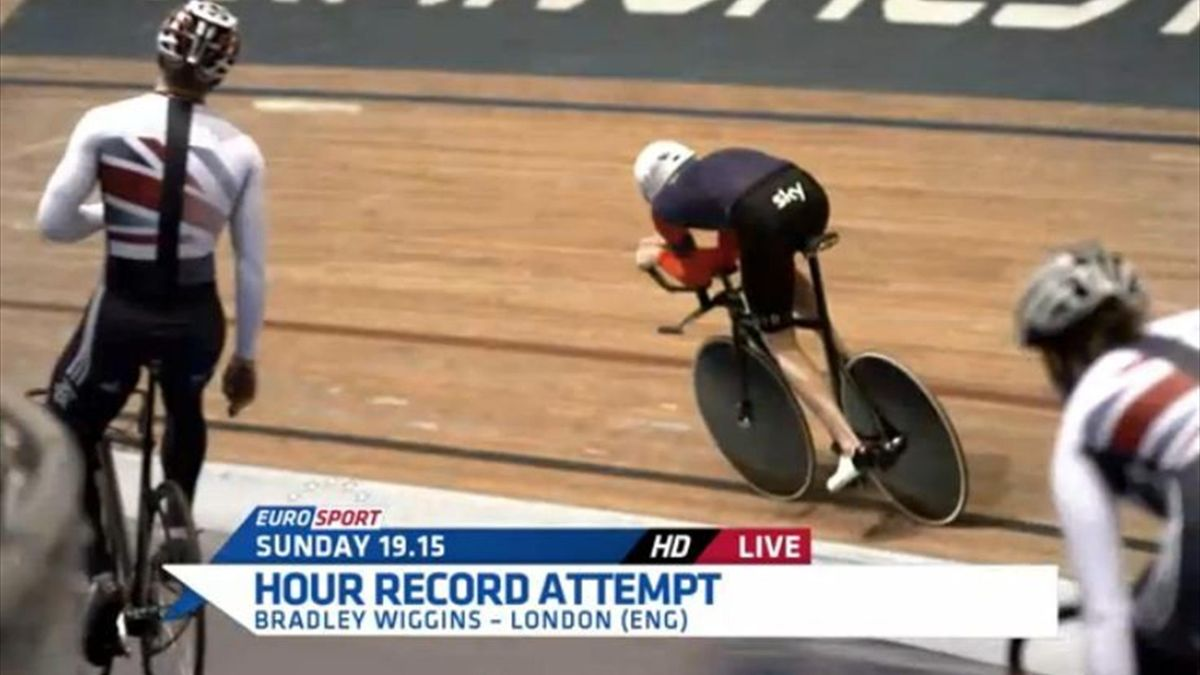 Bradley Wiggins hour record
