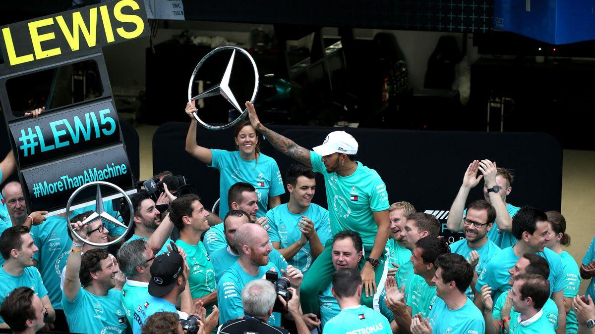 Lewis Hamilton (Mercedes) - GP of Brazil 2018