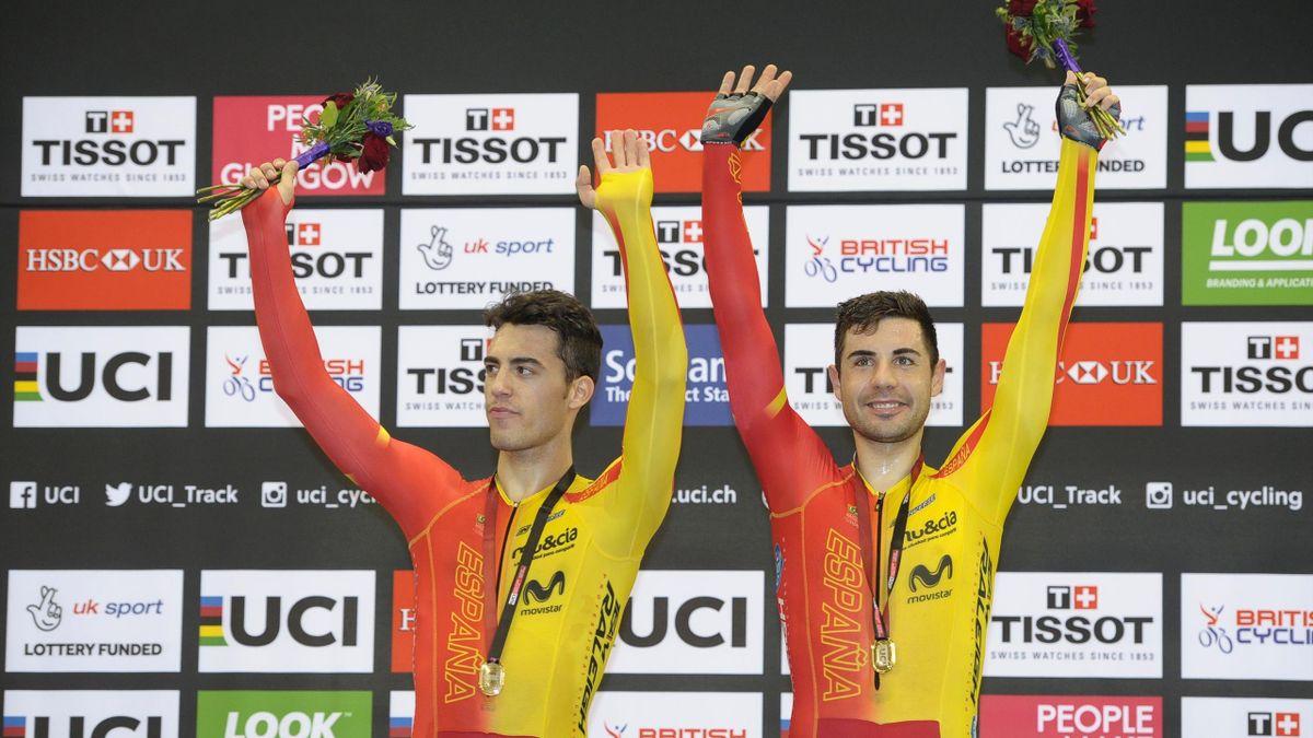 Sebastián Mora y Albert Torres