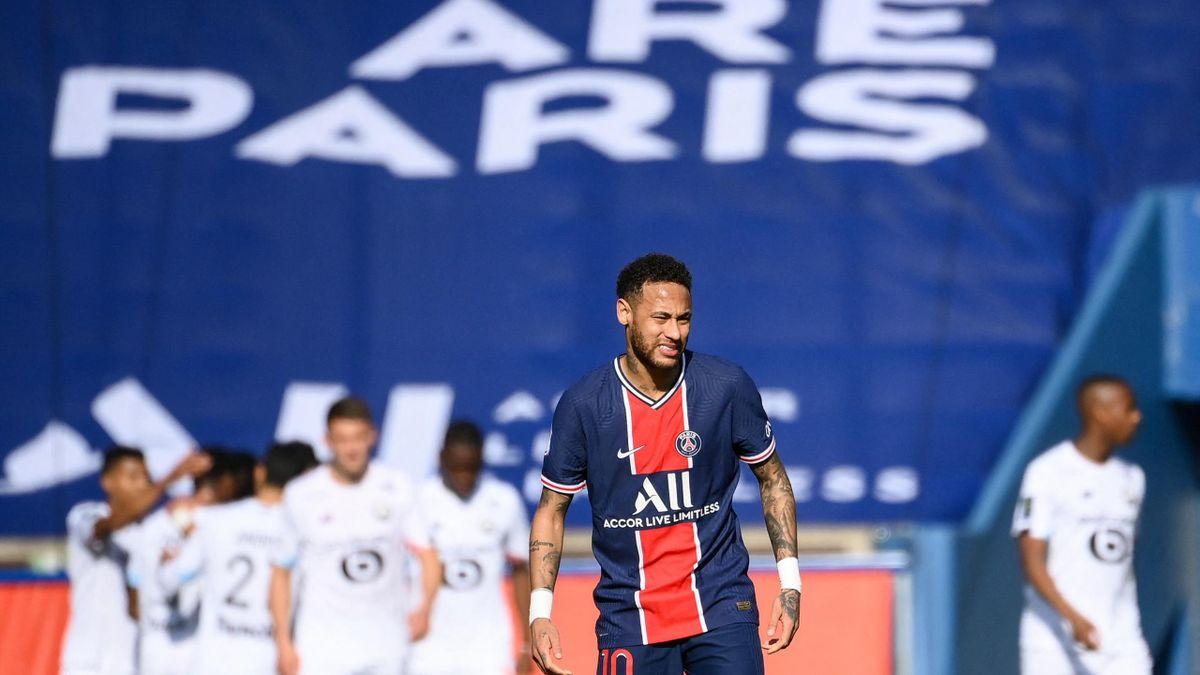 Comme un symbole : Neymar, star esseulée, face à un collectif lillois royal