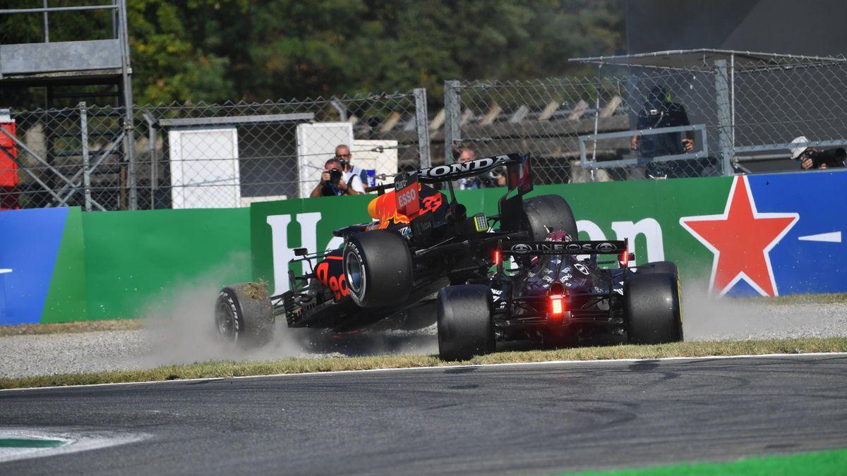 Incidente Verstappen-Hamilton al GP Monza - Mondiale Formula 1 2021