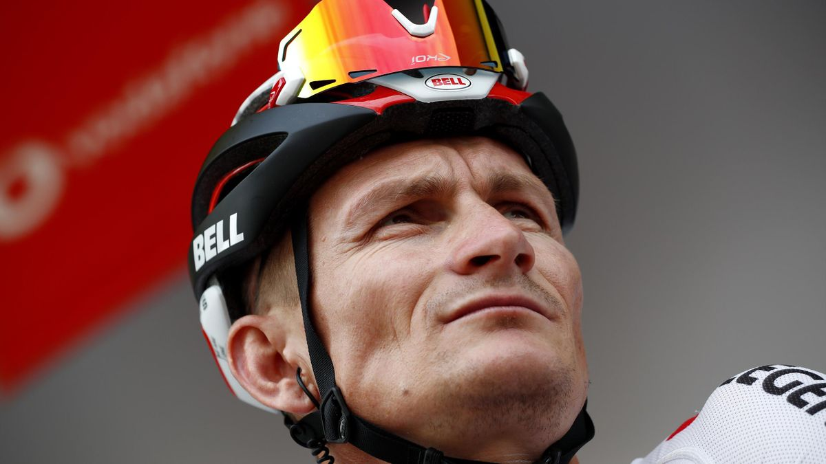 Start / André Greipel of Germany and Team ArkÇa - Samsic / during the 34th Deutschland Tour 2019, Stage 1 a 167km stage from Hannover to Halberstadt 138m / @DeineTour / #DeutschlandTour / on August 29, 2019 in Halberstadt, Germany
