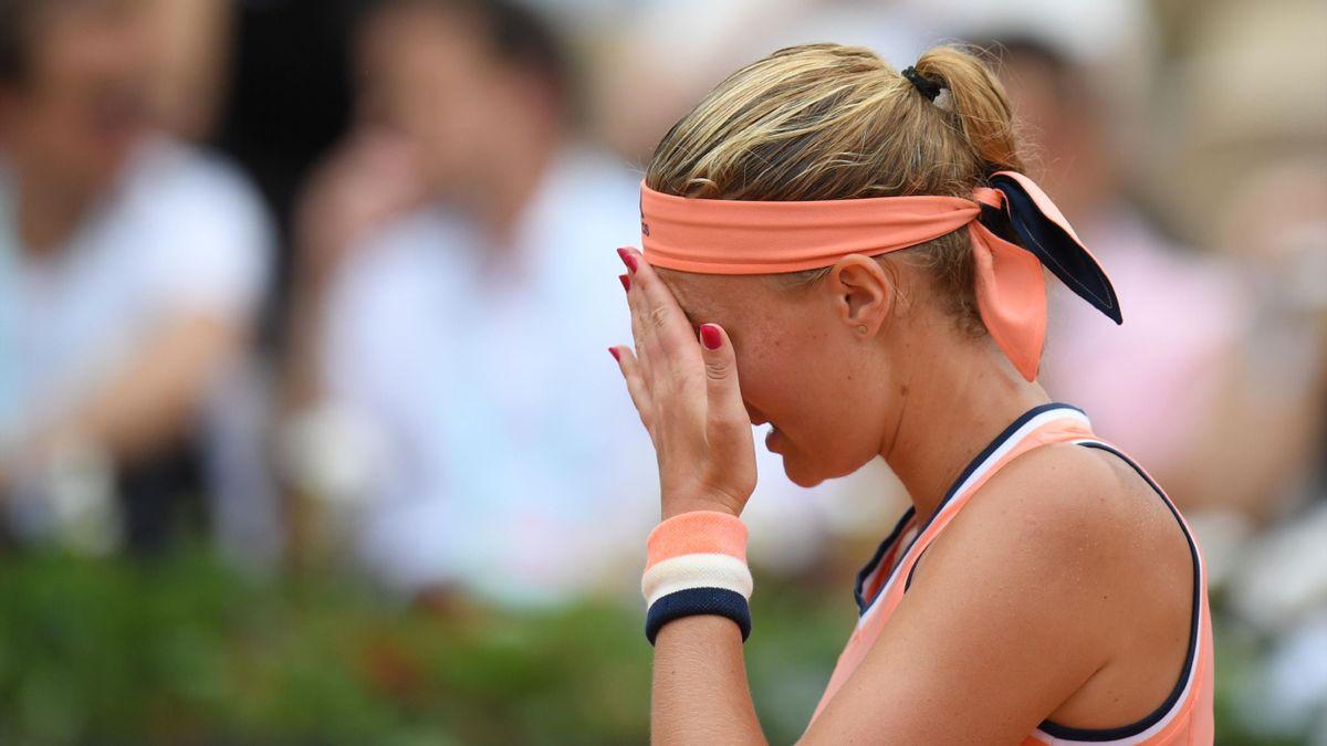 Kristina Mladenovic à Roland-Garros