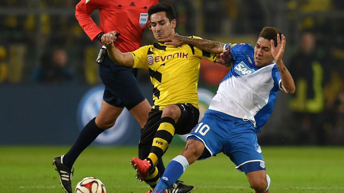 Ilkay Gundogan (Borussia Dortmund) et Roberto Firmino (Hoffenheim) - Bundesliga 2014/2015