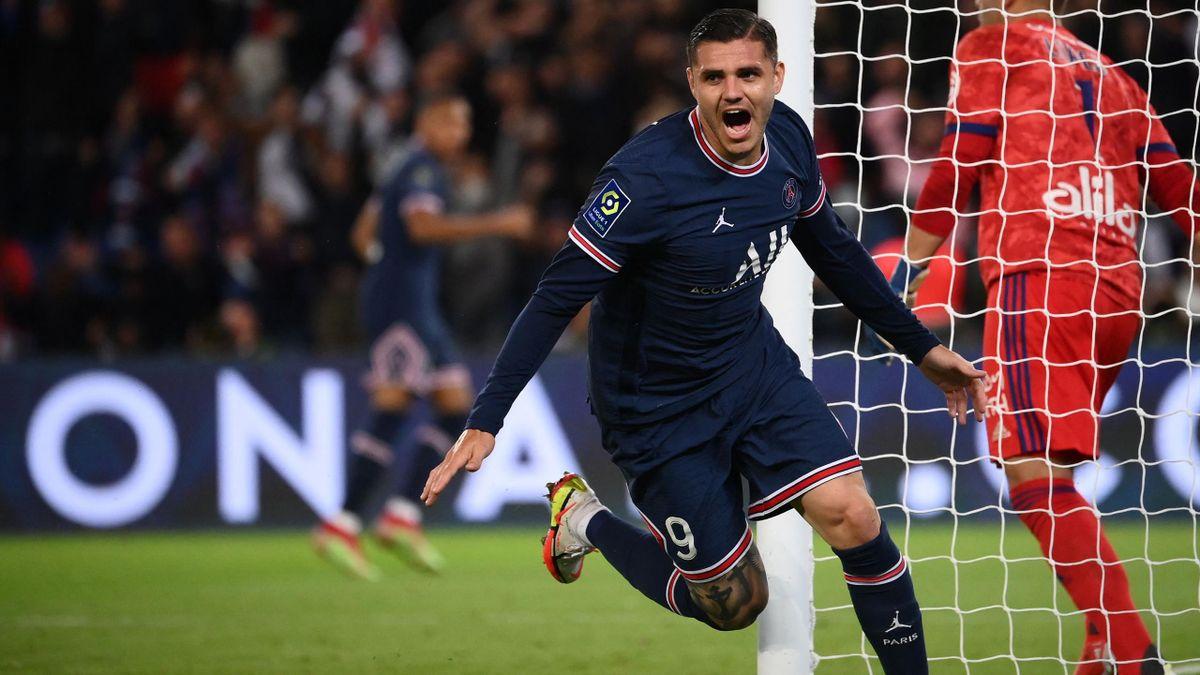 Mauro Icardi rettet PSG drei Punkte gegen Lyon