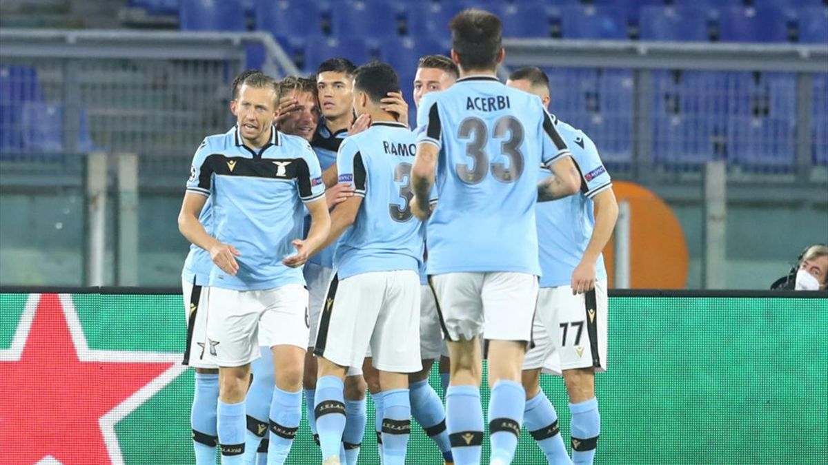 Lazio Mark Champions League Return With Win Over Borussia Dortmund Eurosport