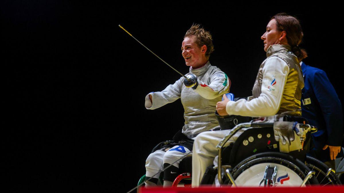 Bebe Vio, medaglia d'oro nel fioretto femminile ai Giochi Paralimpici di Tokyo 2020