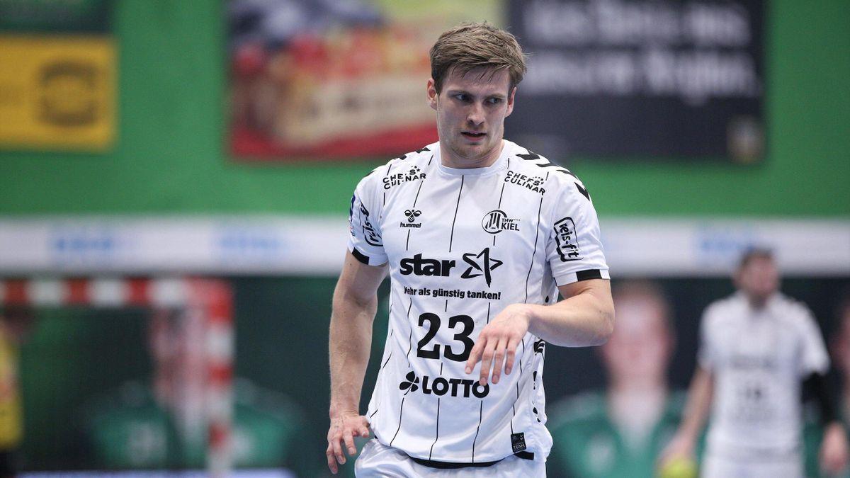 Rune Dahmke spielt für den THW Kiel und wurde 2016 mit der DHB-Auswahl Europameister