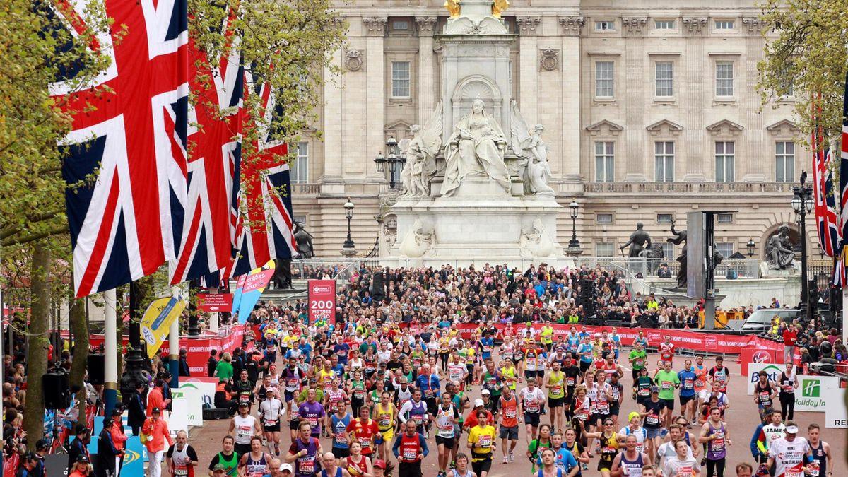 Le marathon de Londres 2015