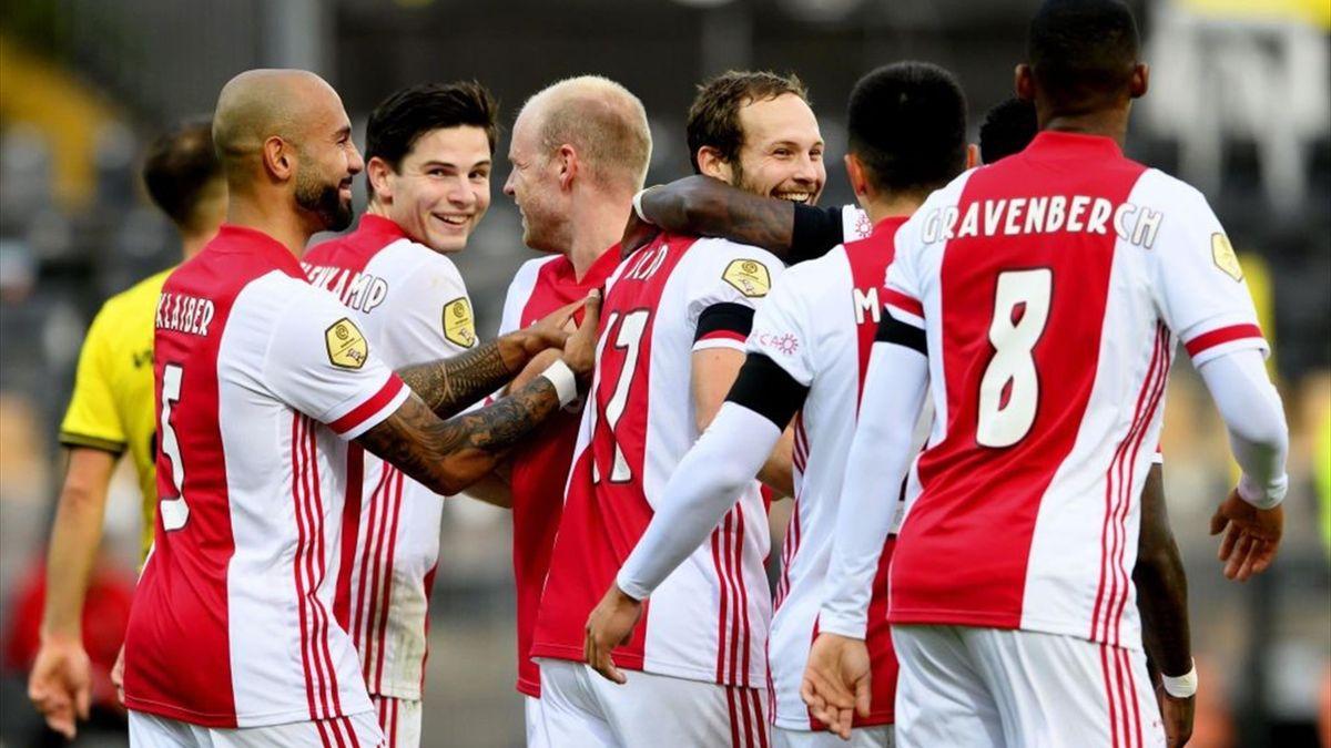 Ajax Amsterdam a fost lovită grav de COVID-19