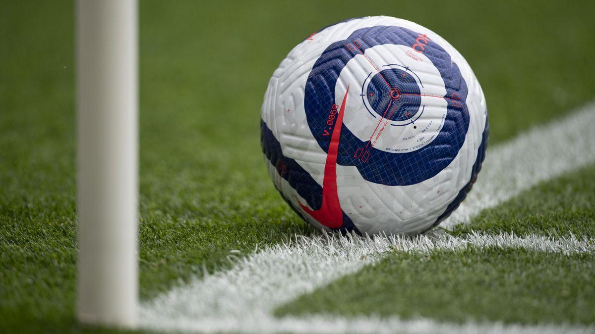 The official Nike Premier League match ball during the Premier League match between Leicester City and Tottenham Hotspur
