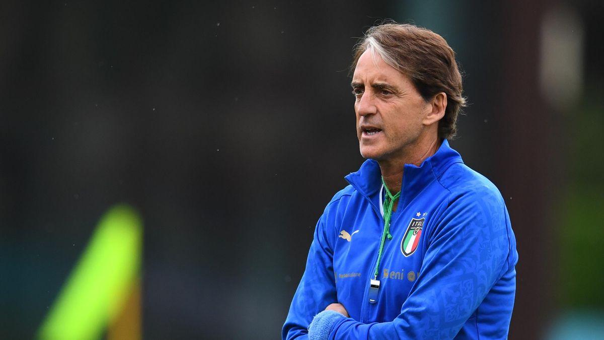 Roberto Mancini, ct dell'Italia - Euro 2020