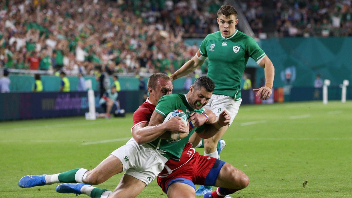 Rob Kearney - Ireland-Russia - 2019 World Cup Rugby Japan - Getty Images