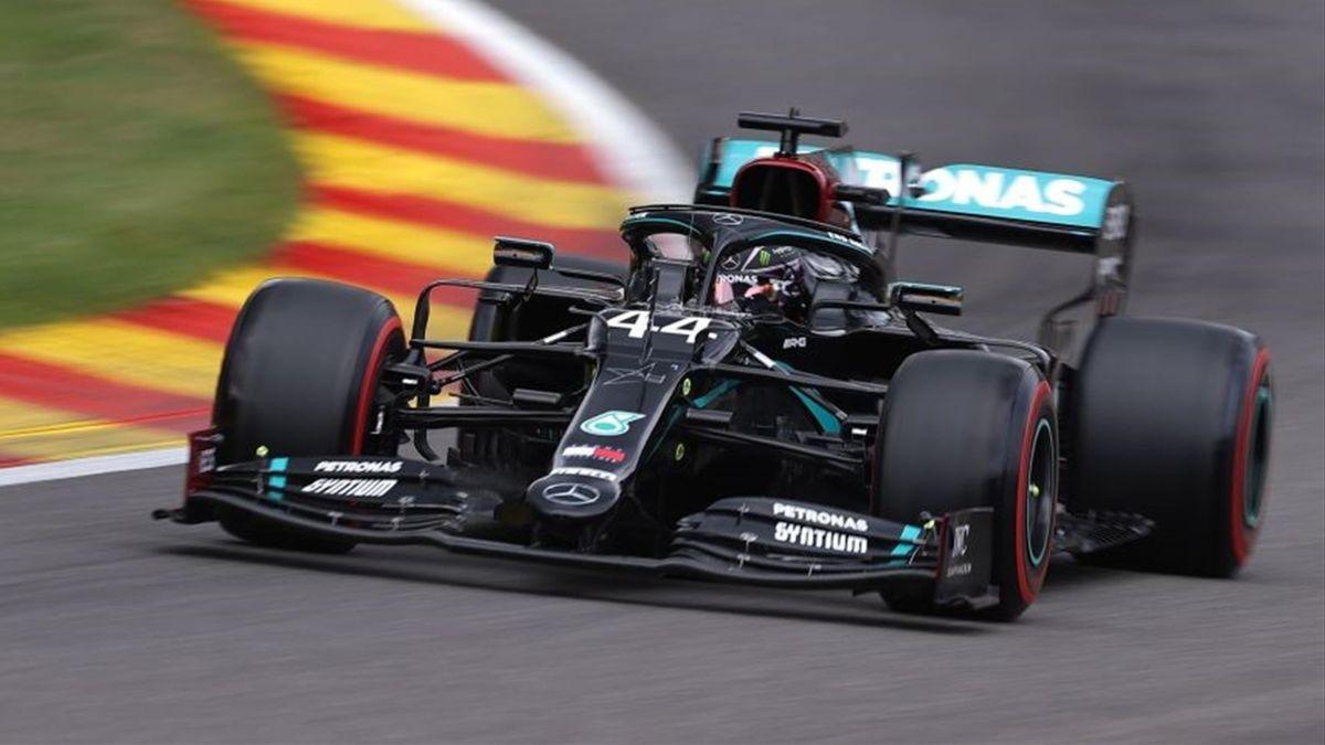 Lewis Hamilton (Mercedes) au Grand Prix de Belgique 2020