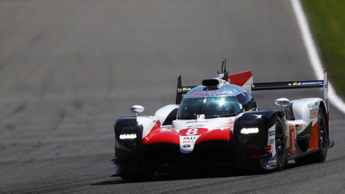 Fernando Alonso (Toyota) aux 6h de Spa-Francorchamps / WEC