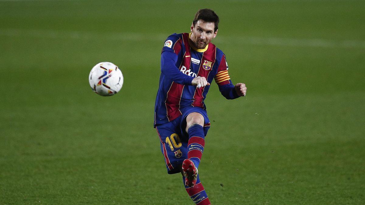 Lionel Messi im Dezember 2020