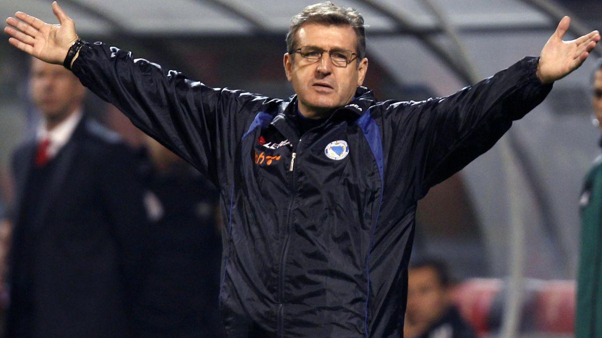 Bosnia's coach Safet Susic (Reuters)
