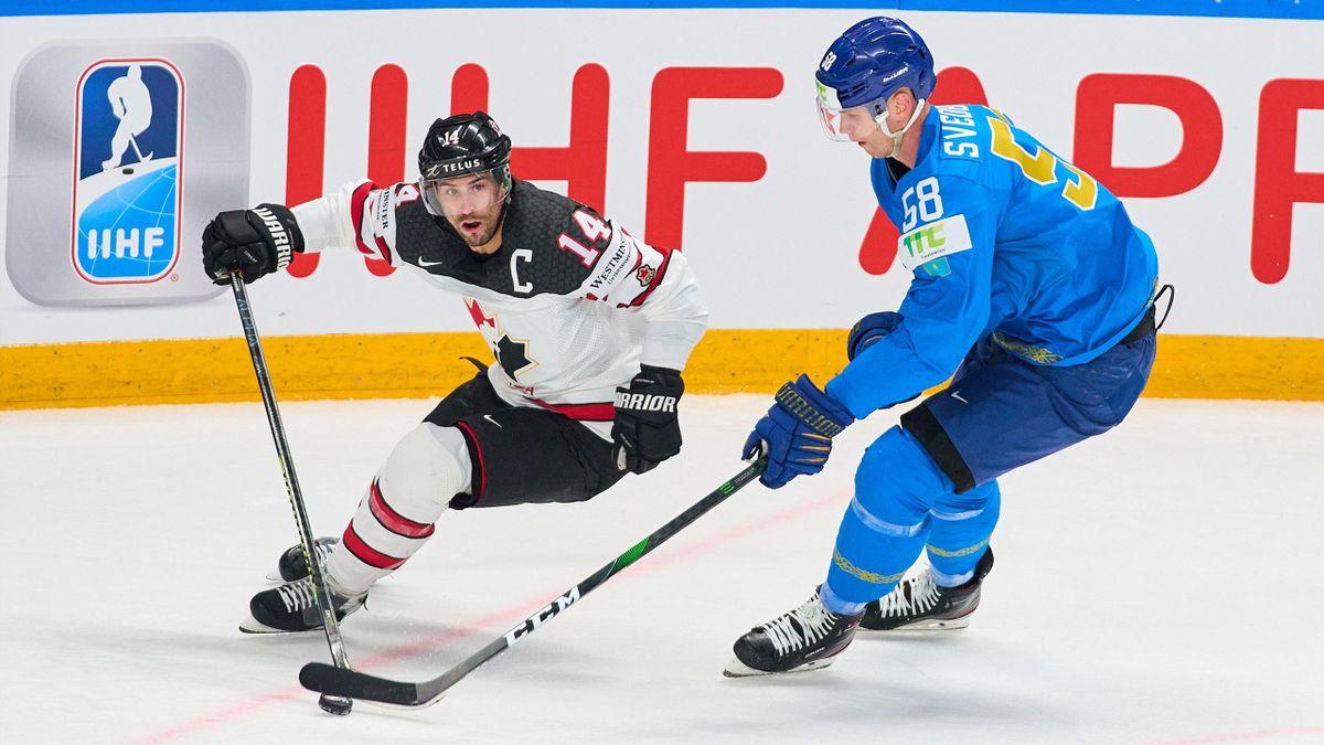 Kasachstan gegen Kanada bei der Eishockey-WM 2021