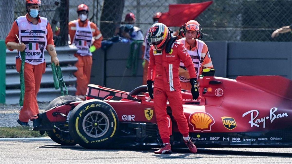 Carlos Sainz (Ferrari) au Grand Prix d'Italie 2021