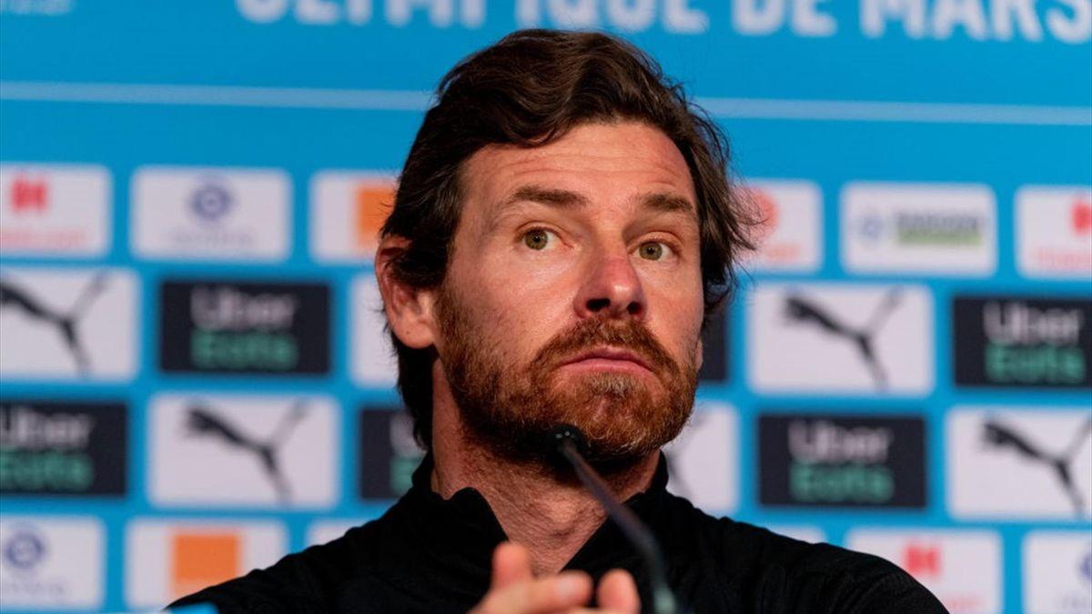 André Villas-Boas en conférence de presse