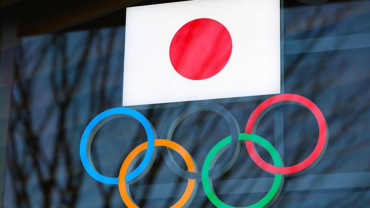 Tokyo Olympic rings