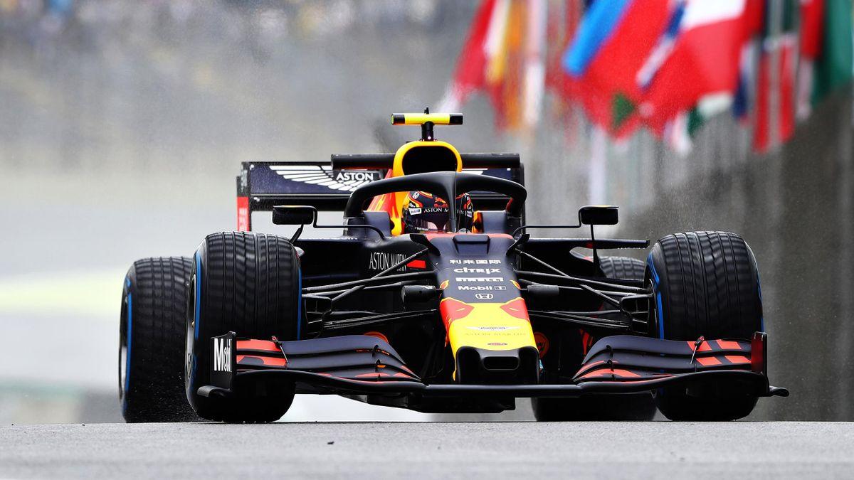 Alexander Albon (Red Bull) au Grand Prix du Brésil 2019