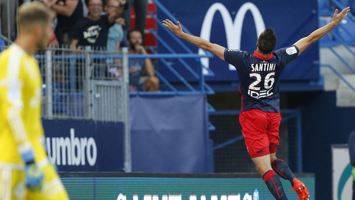 Ivan Santini a offert la victoire à Caen face à Lorient