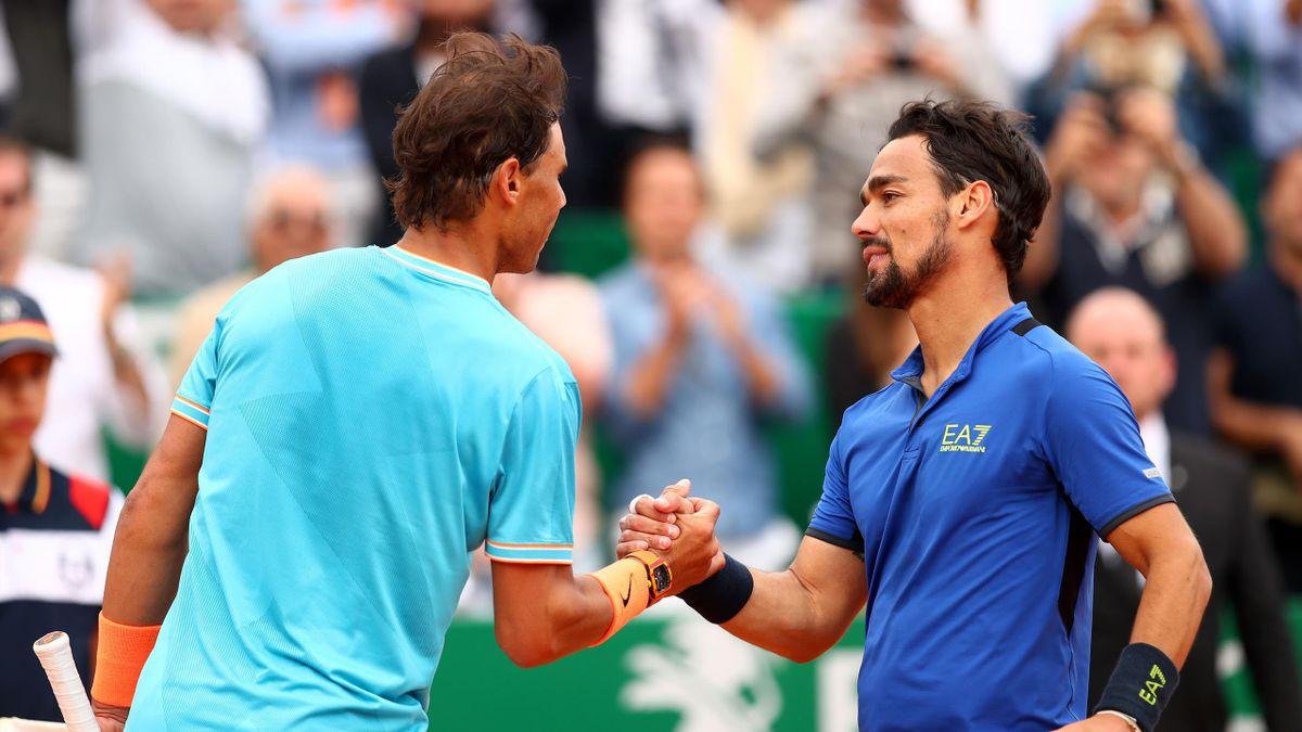Fabio Fognini batte Nadal per la quarta volta in carriera: è un nettissimo 6-4 6-2 che, in un'ora e 36 minuti, vale la prima finale Masters 1000 per il tennista italiano.