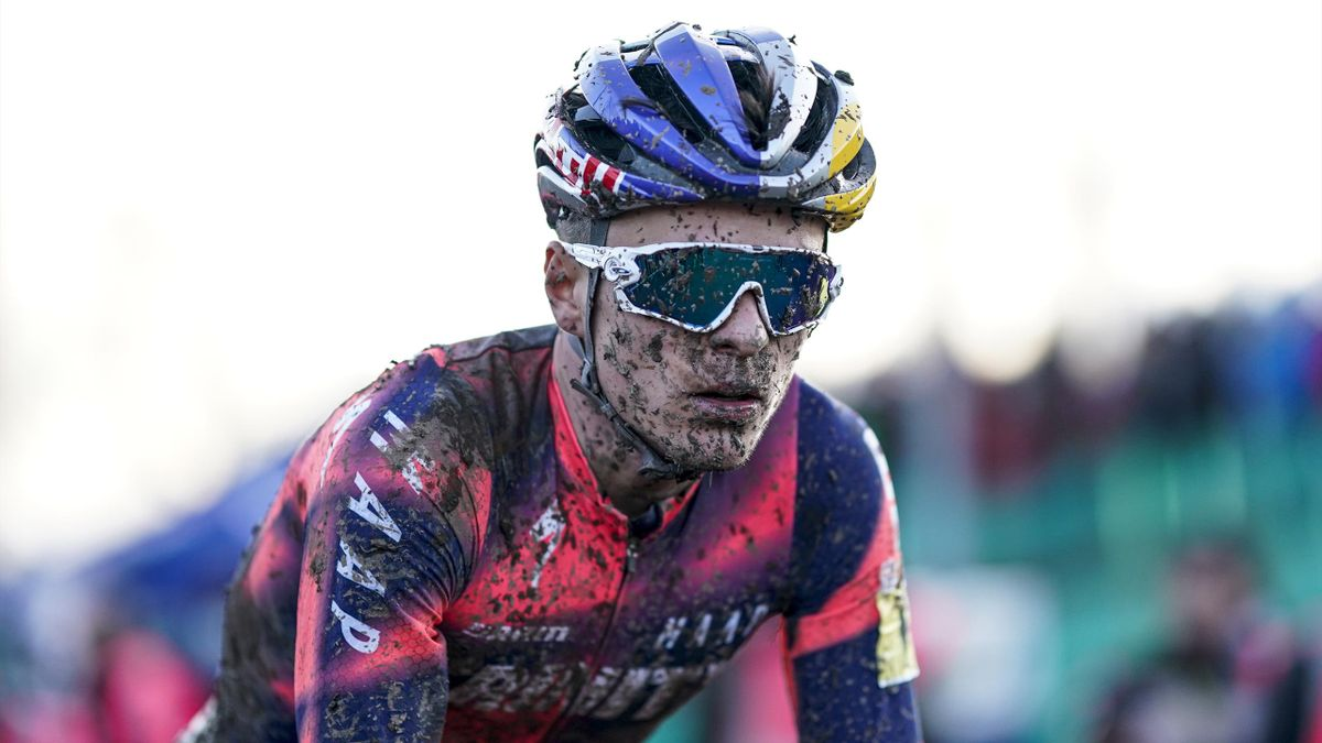 Tom Pidcock took silver in Cyclocross World Championships