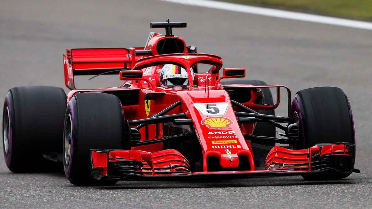 Sebastian Vettel (Ferrari) - GP of China 2018