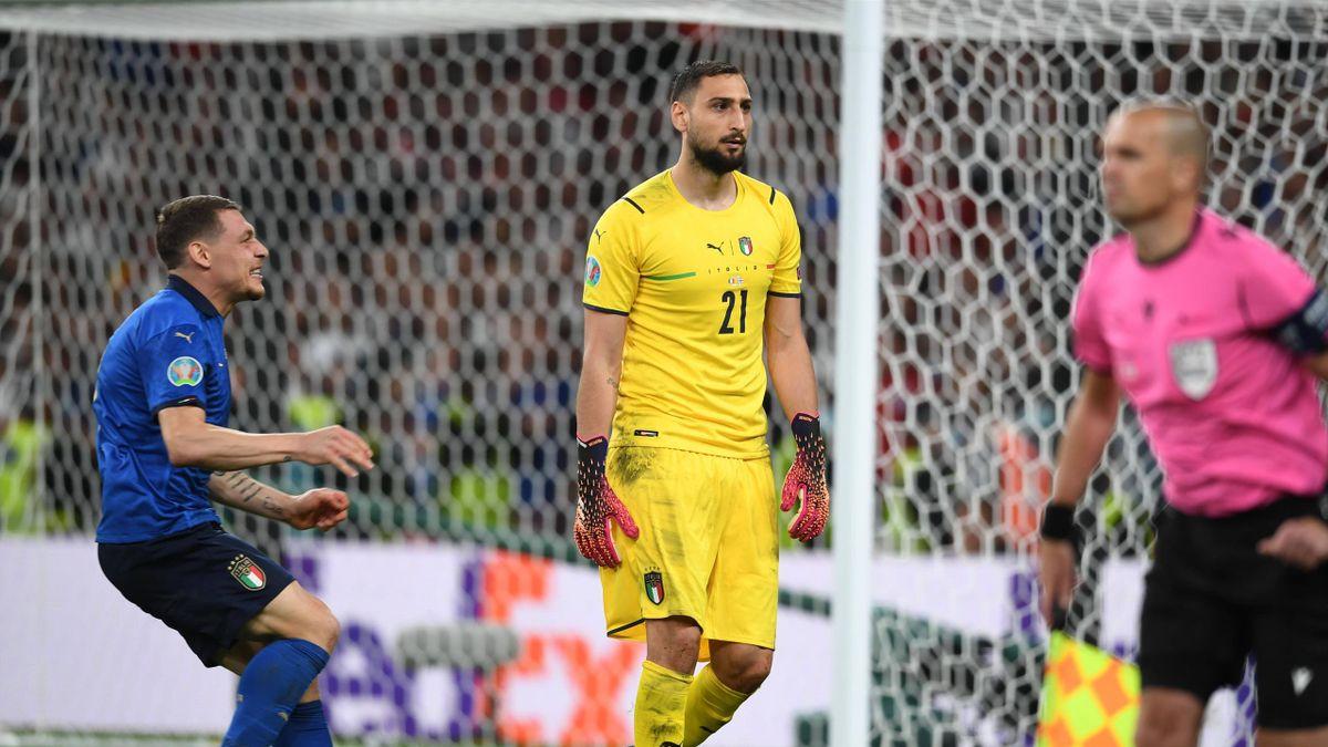 """Italia Gigio Donnarumma confessa: """"Non avevo capito che avevamo vinto gli  Europei. Non ho esultato dopo la parata"""" - Eurosport"""