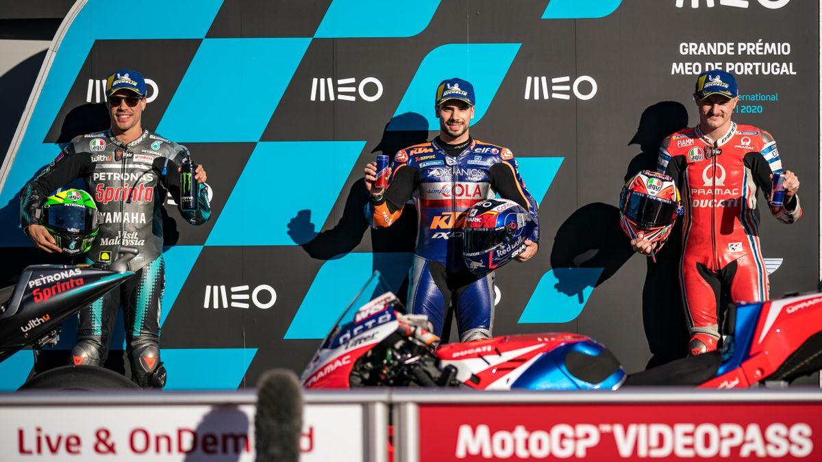 Morbidelli, Oliveira e Miller partiranno in prima fila domani a Portimao, GP Portogallo MotoGP, Getty Images