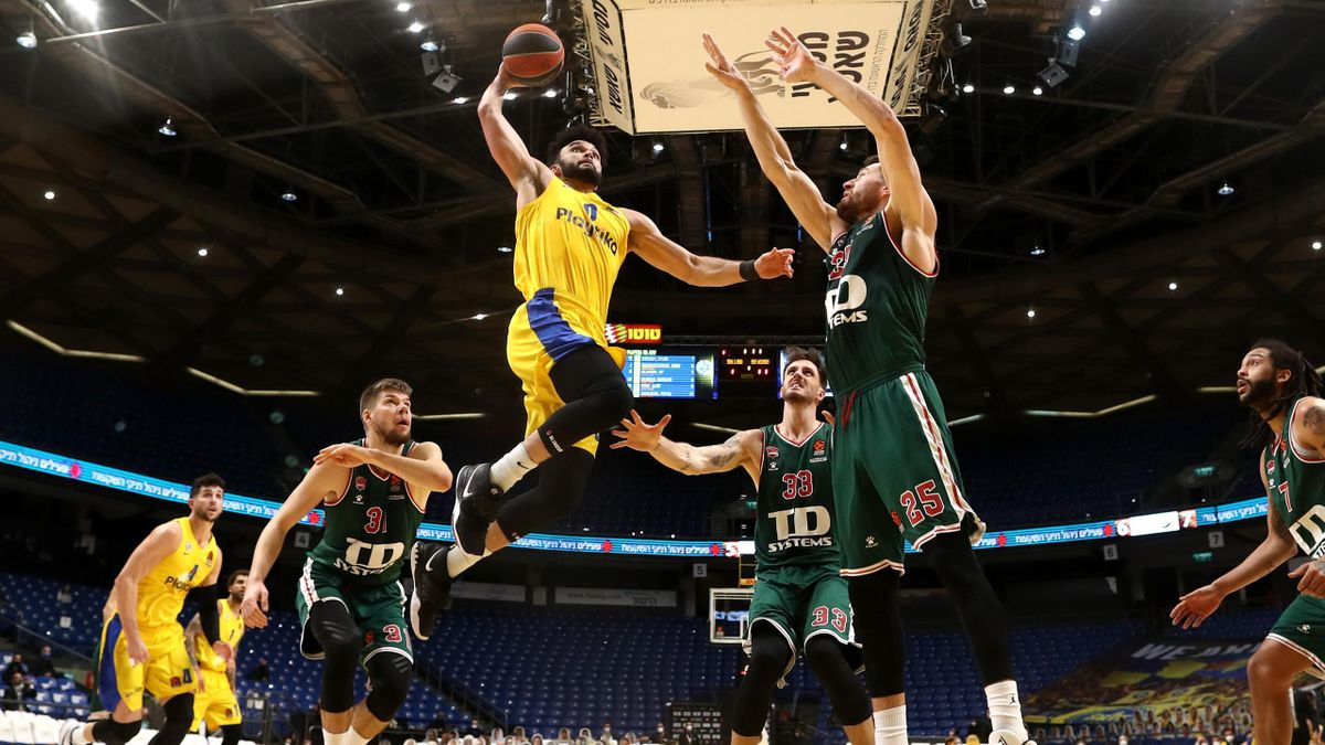 Elijah Bryant, Maccabi Tel Aviv-Baskonia, Euroleague 2020-21