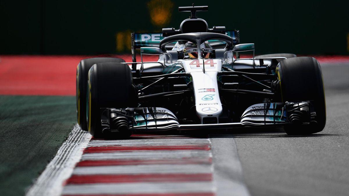Lewis Hamilton (Mercedes) - GP of Russia 2018