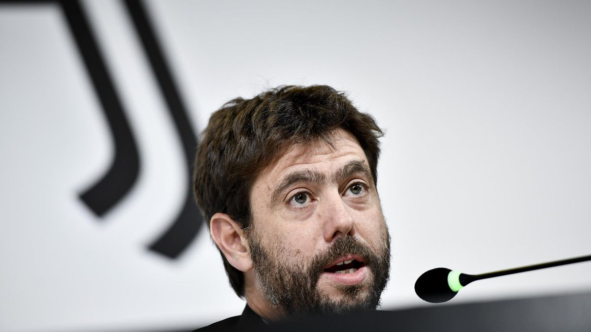 Andrea Agnelli, président de la Juventus Turin