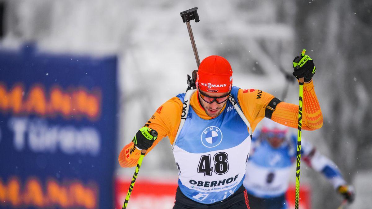 Arnd Peiffer beim Weltcup in Oberhof 2021