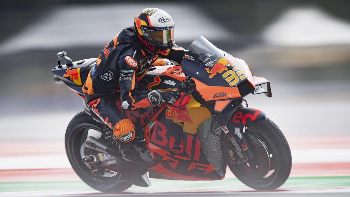 Brad Binder (KTM) lors du Grand Prix d'Autriche