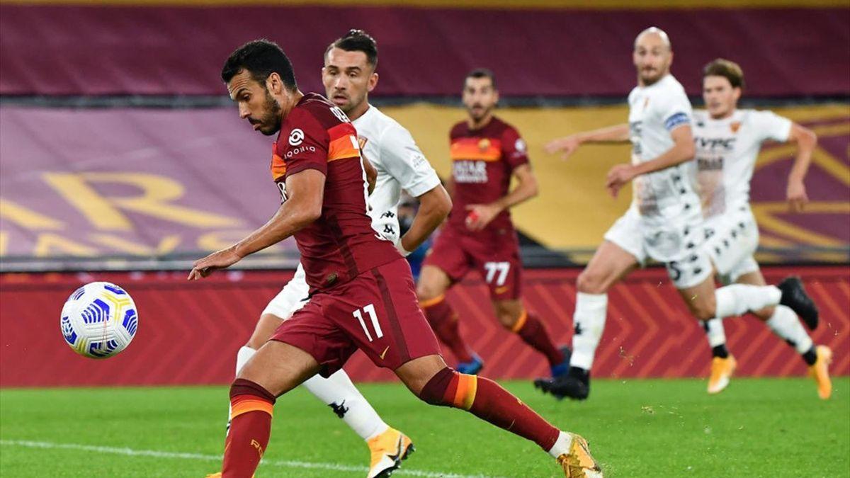 Le pagelle di Roma-Benevento 5-2: Pedro stellare ...