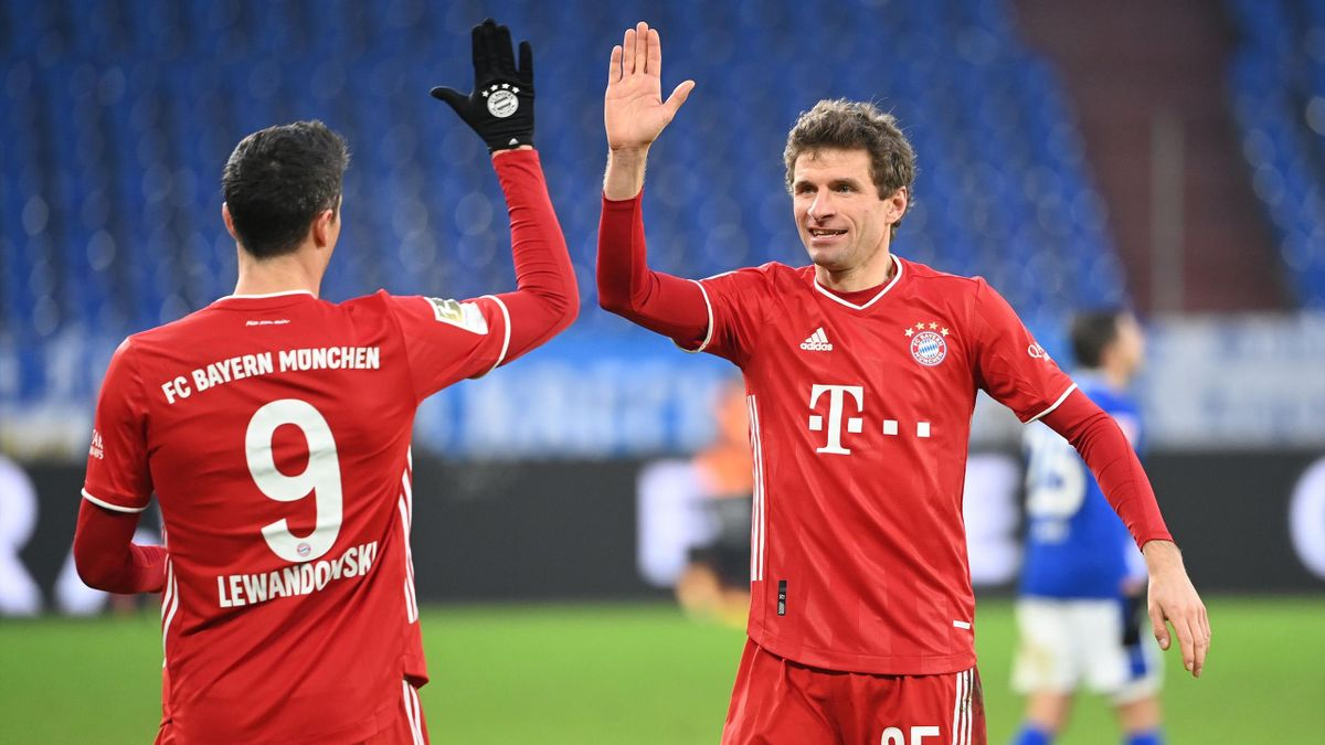 Thomas Müller (r.) gehört beim FC Bayern zu den Leistungsträgern