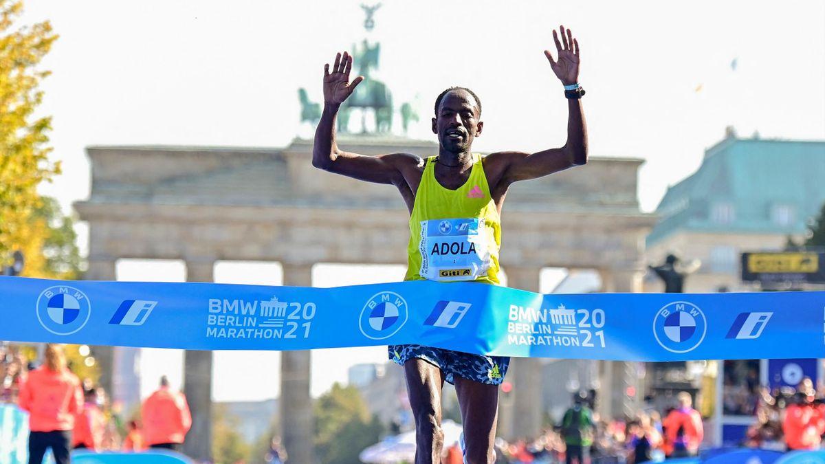 Guye Adola gewinnt Berlin-Marathon 2021