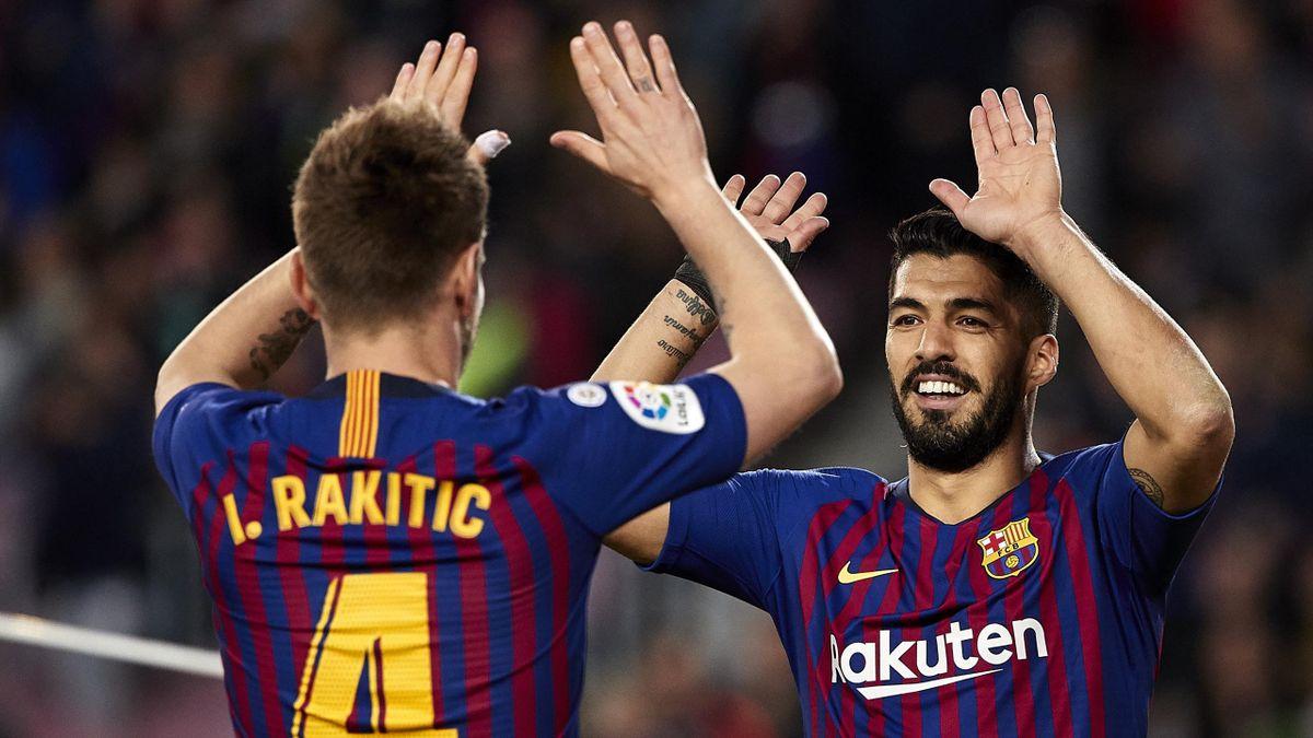 Suárez și Rakitic
