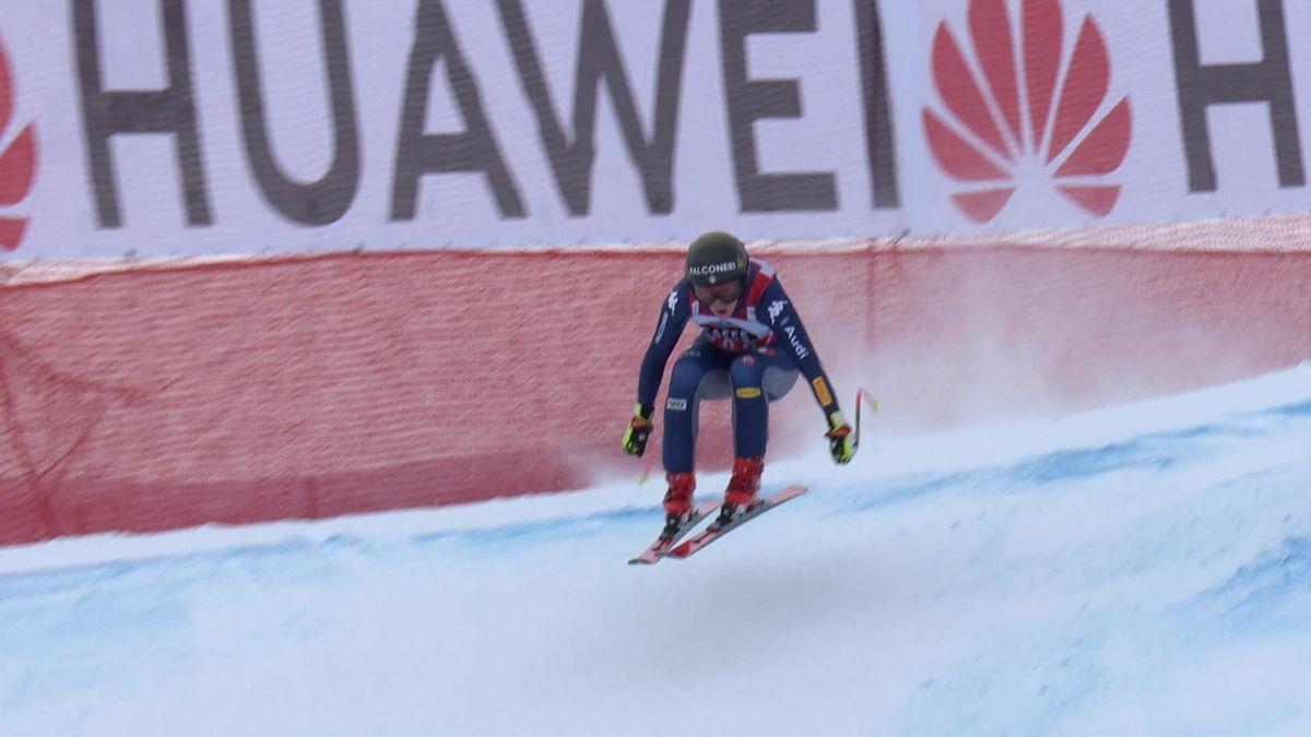 'A masterclass' - Sofia Goggia wins fourth Downhill race in a row