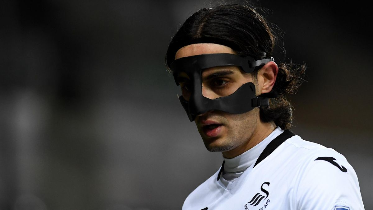 Swansea midfielder Yan Dhanda