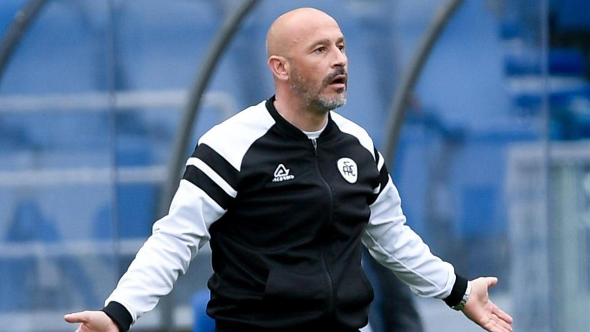 Vincenzo Italiano, allenatore dello Spezia 2020-2021 (Getty Images)