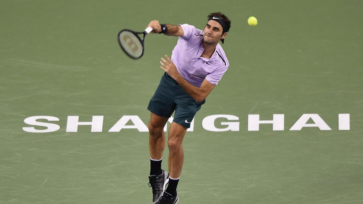 Roger Federer - Shanghai Masters 2017