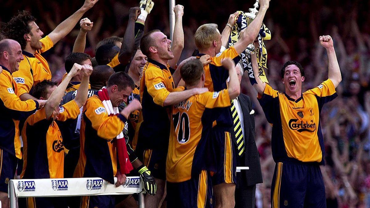 Liverpool, câștigătoarea Cupei Angliei în 2001