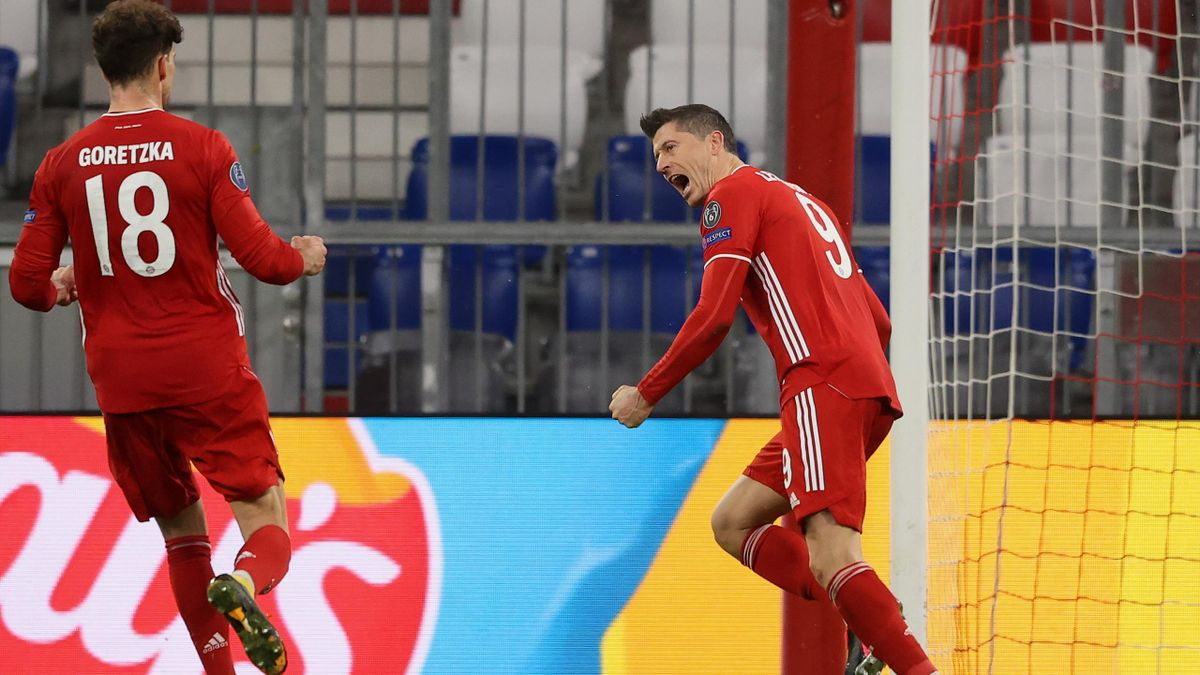 FC Bayern gegen Lazio Rom