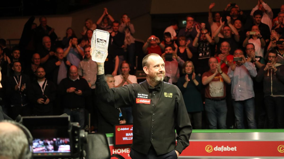 Mark Williams is a winner again in Belfast.