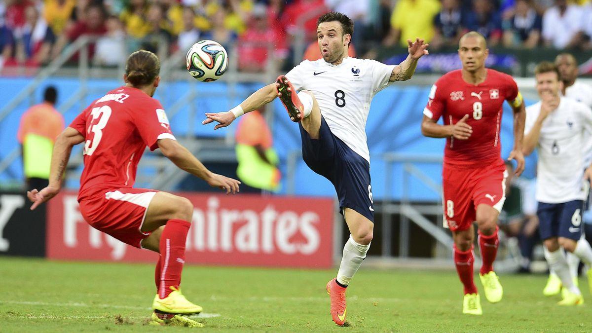 Mathieu Valbuena, France - Switzerland, Coupe du monde 2014