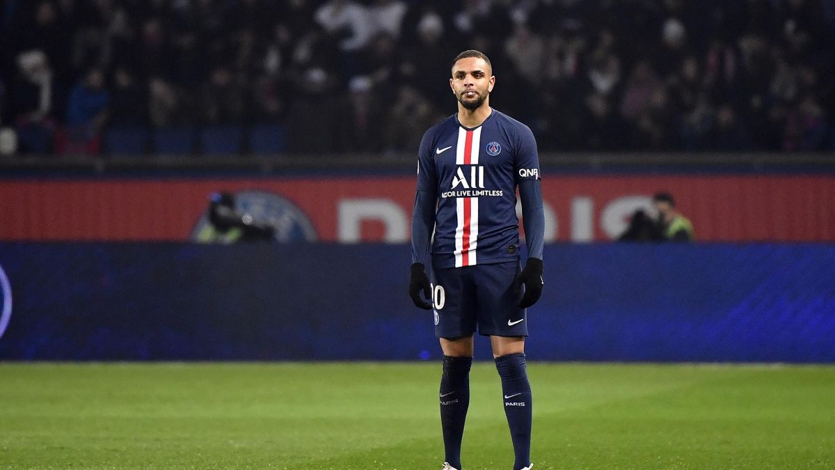 Layvin Kurzawa of Paris Saint-Germain